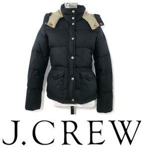 J.Crew Down Filled Hooded Puffa Jacket